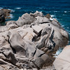 Sardinia, Italy: stunning granite rock formations in Capo Testa, near Santa Teresa Gallura