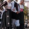 Sardinia, Italy: Sassari, Cavalcata Sarda Festival. People wearing a traditional sardinian dress. Cavalcata Sarda: sfilata dei costumi tradizionali della Sardegna