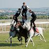 "Sardinia, Italy: Sassari, Cavalcata Sarda Festival. The ""Pariglie"" Race."