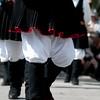 Sardinia, Italy: the Cavalcata Sarda Festival. Close -up of a traditional dress - Sardegna, Cavalcata Sarda: sfilata dei costumi tradizionali della Sardegna