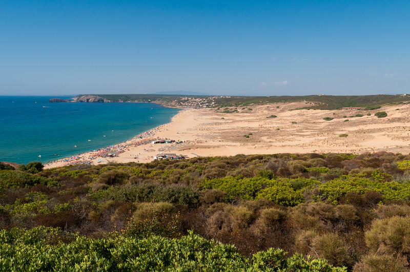 Arbus: spiagga di Torre dei Corsari