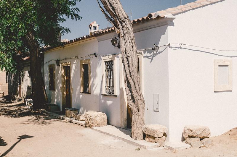 Il pittoresco villaggio di San Salvatore di Sinis, nei pressi di Cabras.