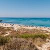 Penisola del Sinis: spiaggia di San Giovanni di Sinis, a sud di Oristano.