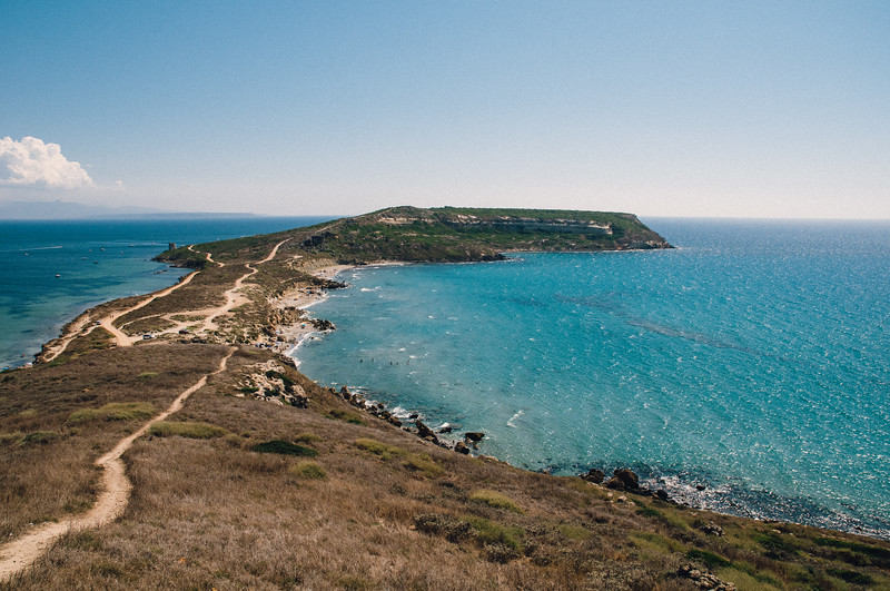 Penisola del Sinis: Capo San Marco.