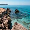 Sardinia, Italy: transparent water at San Giovanni di Sinis beach, near Cabras. - Sardegna: trasparenze a San Giovanni di Sinis, nei pressi di Cabras.