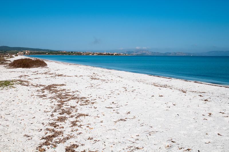 Stintino, spiaggia e stagno delle Saline