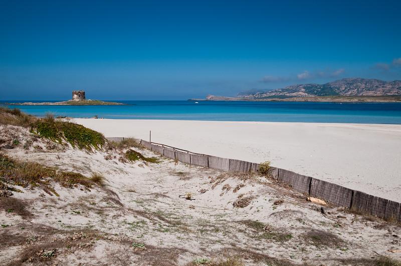Sardinia, Italy: Stintino, La Pelosa beach. Spiaggia La Pelosa.