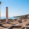 Sardinia, Italy: ruins of Tharros - Penisola del Sinis: Complesso archeologico di Tharros - Le Colonne