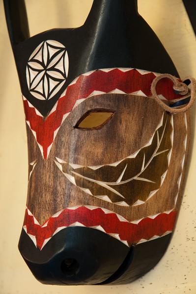 Ottana: le maschere tradizionali del paese situato nel cuore della Barbagia.