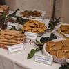 Aritzo, Italy, 25.10.2009. Cortes Apertas 2009, Aritzo: Sagra delle castagne e delle nocciole. Pane fatto a mano. Dolci e prodotti tipici sardi