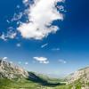 Dorgali, Sardinia (Italy). Supramonte's mountains, between Oliena and Dorgali. Lanaitto valley, near the nuragic village of Tiscali.