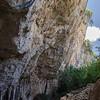 Dorgali, Sardinia (Italy). Tiscali nuragic village, A secret town, hidden in a collapsed cave in Supramonte's mountains heart, between Oliena and Dorgali.