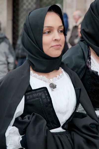 Sardinia, Italy: traditional carnival masks - Maschere tradizionali della Sardegna