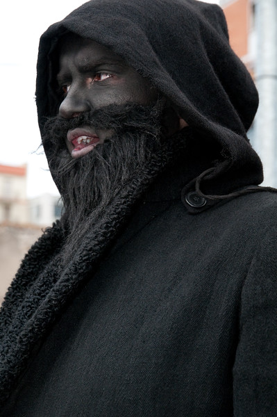 Sardinia, Italy: traditional carnival masks - Maschere tradizionali della Sardegna: Thurpos di Orotelli