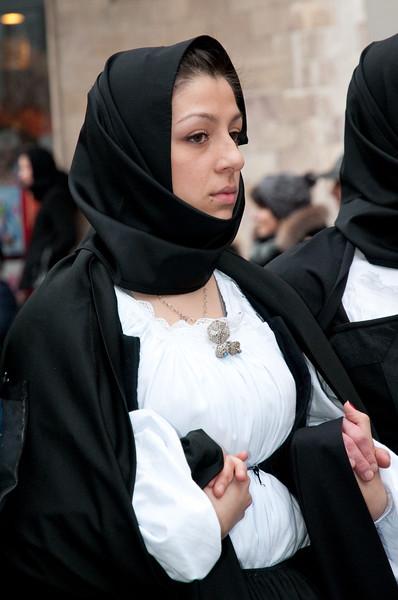 Sardinia, Italy: traditional carnival masks - Maschere tradizionali della Sardegna: