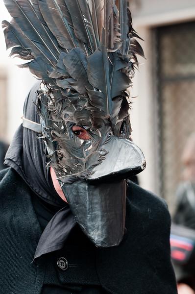 Maschere tradizionali della Sardegna: Is Mustayonis e s'Orcu Foresu di Sestu - (ENG) Sardinian traditional masks from Sestu.