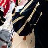 Sardinian traditional masks and dress: drummers of Oristano. - Maschere tradizionali della Sardegna: Tamburini di Oristano