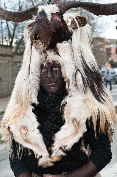 Sardinia, Italy: traditional carnival masks - Maschere tradizionali della Sardegna: Maschinganna di Ula' Tirso