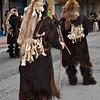 Sardinia, Italy: traditional carnival masks - Maschere tradizionali della Sardegna: S'Urtzu e Sos Colonganos di Austis