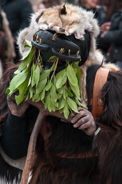 Sardinia, Italy: traditional carnival masks - Maschere tradizionali della Sardegna: Sos Colonganos di Austis