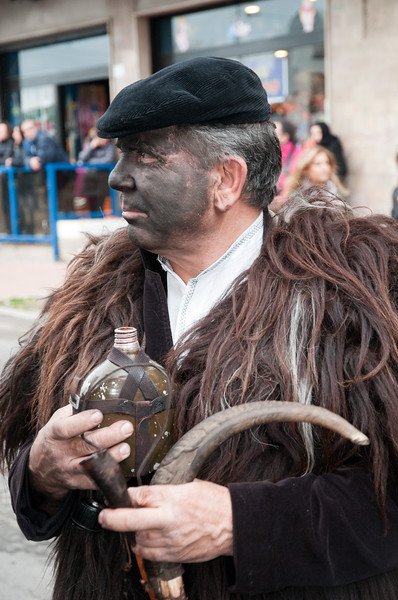 Sardinia, Italy: traditional carnival masks - Maschere tradizionali della Sardegna.