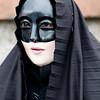 Sardinia, Italy: traditional carnival masks - Maschere tradizionali della Sardegna: Mascaras a lenzolu di Aidomaggiore.
