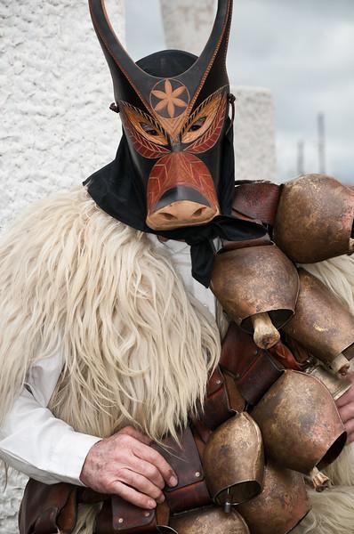 Sardinia, Italy: traditional carnival masks / Maschere tradizionali della Sardegna: Boes e Merdules di Ottana