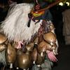 Ottana: i boes e merdules, maschere tradizionali del paese, sfilano in occasione della festa di Sant'Antonio Abate.
