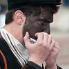 Sardinia, Italy: traditional carnival masks - Maschere tradizionali della Sardegna: sos Burrones, Ghilarza