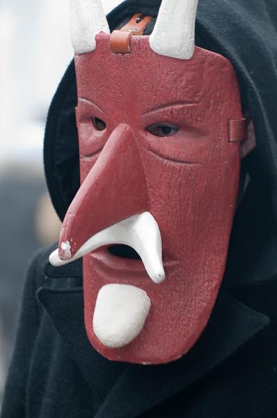 "Sardinia, Italy: traditional carnival masks ""Su Bundu"" of Orani - Maschere tradizionali della Sardegna: Su Bundu di Orani"