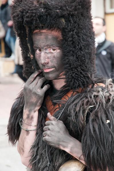 Sardinia, Italy: traditional carnival masks - Maschere tradizionali della Sardegna: Mamutzones di Samugheo