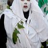 Sardinia, Italy: traditional carnival masks - Maschere tradizionali della Sardegna: Zardinera e Maimones di Orosei