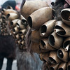 Sardinian traditional masks and dress: Mamuthones of Mamoiada - (ITA) Maschere tradizionali della Sardegna: Mamuthones di Mamoiada