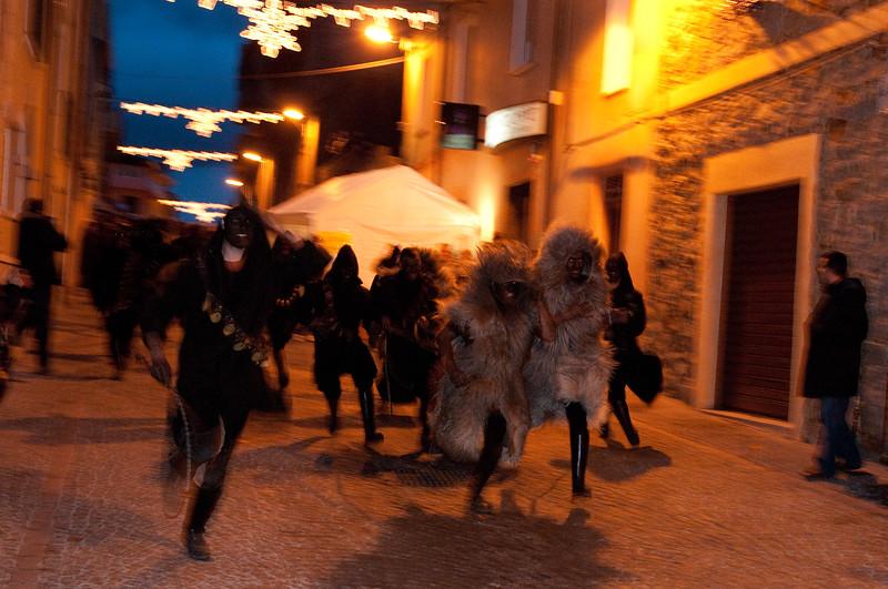 Fonni: Urthos e Buttudos, maschere tradizionali del carnevale tradizionale barbaricino
