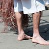"""Sardinia, Italy: the Cavalcata Sarda Fastival, Group """"gli scalzi"""" of Cabras. - Cavalcata Sarda: sfilata dei costumi tradizionali della Sardegna. Gruppo folk """"Gli Scalzi"""" di Cabras"""