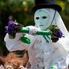 Sardinia, Italy: Sassari, Componidori mask of Sartigliedda carnival during the Cavalcata Sarda festival - Cavalcata Sarda: sfilata dei costumi tradizionali della Sardegna. La sartigliedda (la sartiglia dei bambini) di Oristano