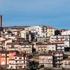 Veduta di Gavoi, in Barbagia.