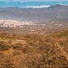 Veduta di Fonni, paese nel cuore della Barbagia.