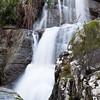 Tempio Pausania, Sardinia: Little waterfall during winter in Limbara Mountain - Cascata invernale alle pendici del Monte Limbara, in Gallura