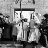 Olbia, 29.03.2013. Riti della Settimana Santa: S'Iscravamentu. Deposizione del Cristo dalla croce e processione. Rituals of the Holy Week in Sardinia, Olbia. The Good Friday.