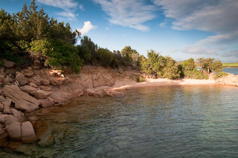 Sardinia, Italy: beautiful bay in Costa Smeralda