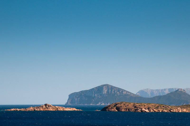 Sardinia, Italy: Costa Smeralda at summer