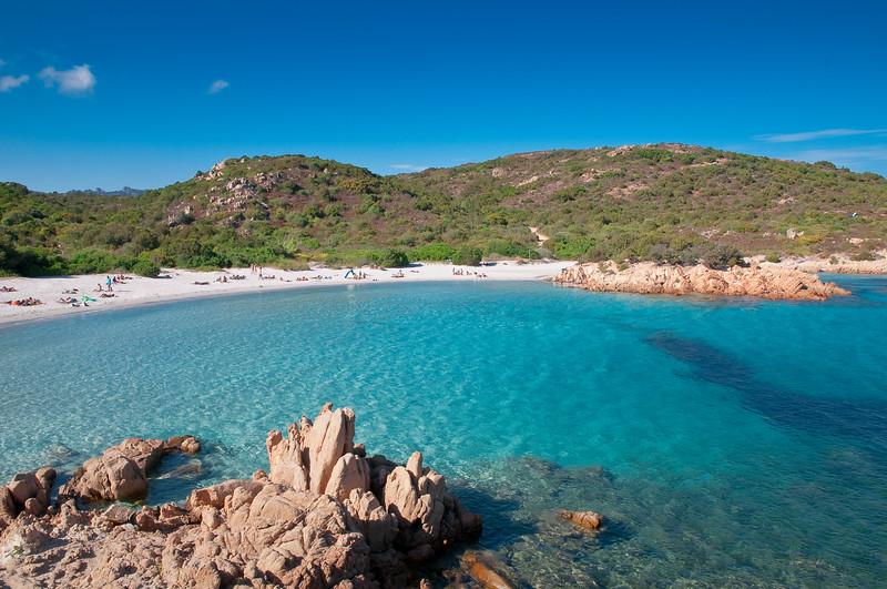 Sardinia, Italy: Costa Smeralda. Principe beach (spiaggia del Principe).