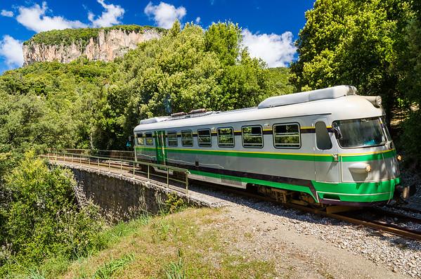 Trenino Verde della Sardegna