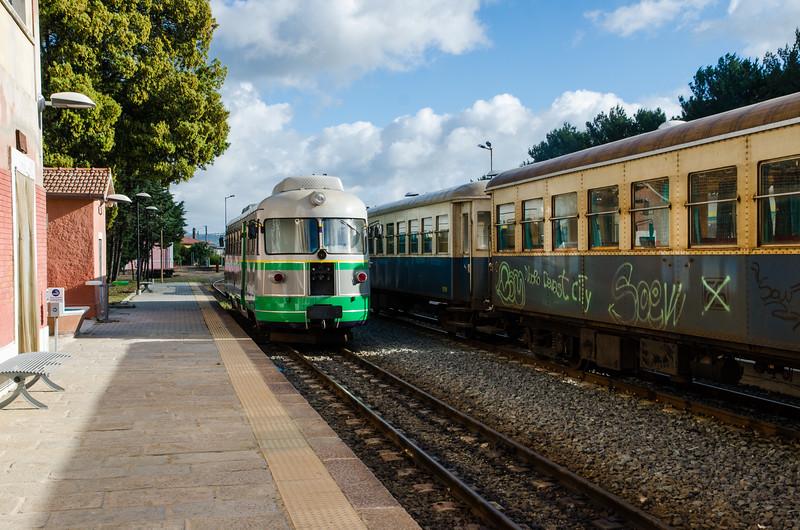 stazione di Mandas, provincia di Cagliari