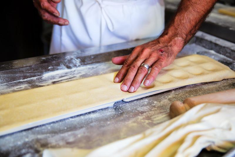 Shaping the Ravioli