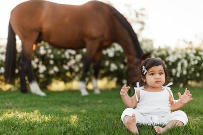 Maharaj Family Session Horse Ranch A024