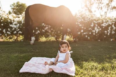 Maharaj Family Session Horse Ranch A015
