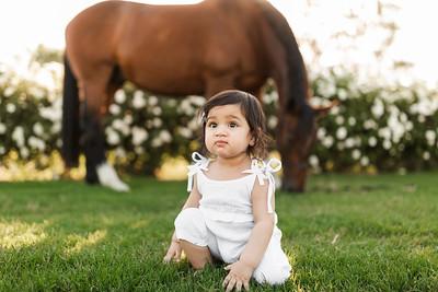 Maharaj Family Session Horse Ranch A029