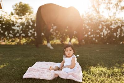 Maharaj Family Session Horse Ranch A016